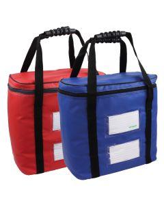 Versapak Hartgeldtasche KTH0 in rot und blau