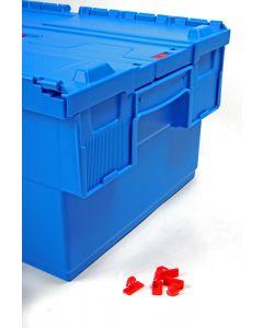 Steckplombe für Deckelboxen