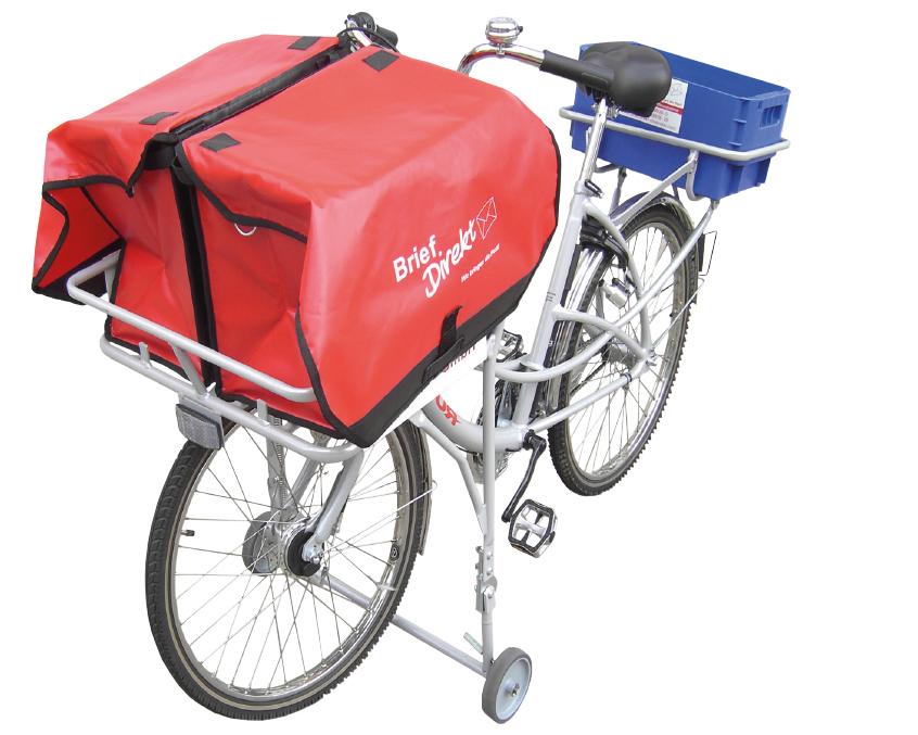 Fahrrad mit Versapak Taschen