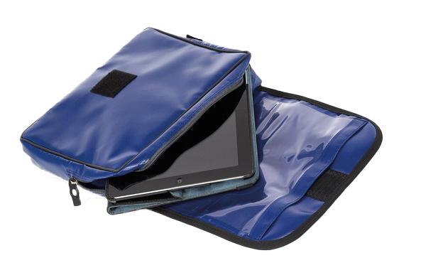 Tasche für ein Tablet